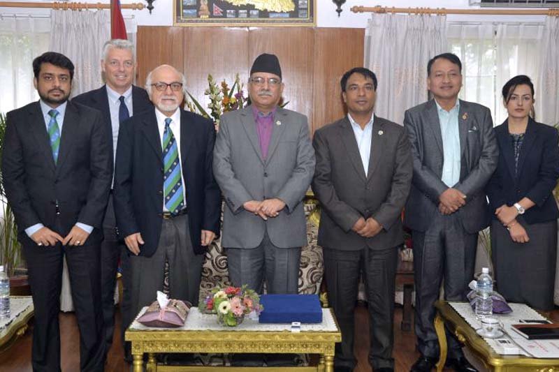 ICC delegation calls on PM Dahal. This is a test header. Even Longer than two lines.
